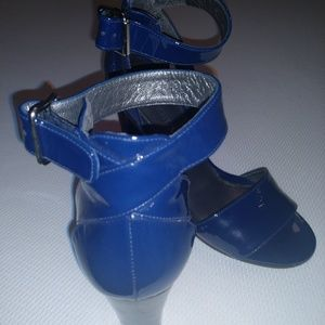 Blue Stuart Weitzman heels